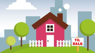 reklame illustration ejendomsmægler