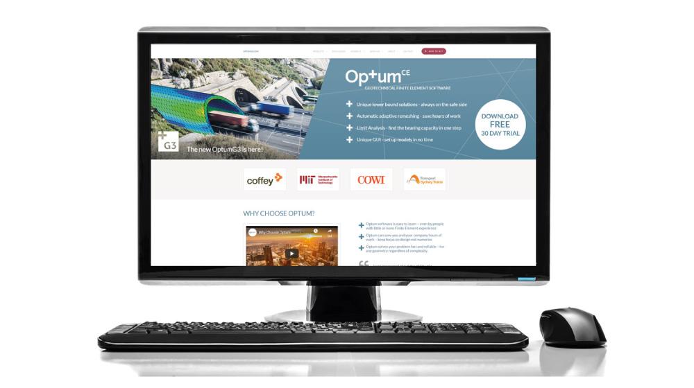 optumce hjemmeside design udvikling